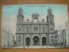 VINTAGE POSTCARD GRAN-CANARIA - LAS PALMAS CATHEDRAL Ref 2181