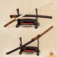 Full Tang Handmade Japanese Samurai Sword Katana 9260 Spring Steel Blade Sharp