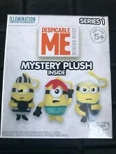 Minion Despicable Me Mystery Plush Series 1 Blind Box Keychain Backpack Clip