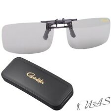Spro Gamakatsu Polarisations Brille G-Glasses Clip_On-G Light Green/Blue Sha