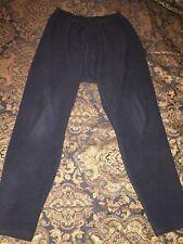 Patagonia Capilene Baselayer Fleece Black Pants Men's XL Made In USA