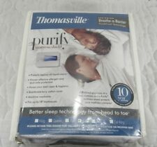 Thomasville Purify Mattress Shield Miracle Mattress Protector Twin Brand New