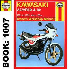 Kawasaki AE50 AE80 AR50 AR80 1981-95 Haynes Workshop Manual