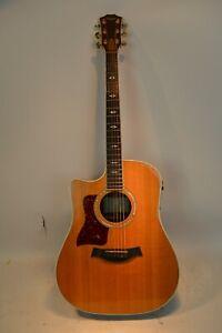 2000 Taylor 810CE Left Handed Lefty Acoustic Electric Guitar W/Case