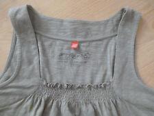 Esprit Damen Top Longtop Longshirt Tunika Beige Oliv Gr. XXL XL L