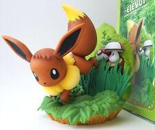 Japanese Pokemon Eevee Premialive figure statue Foongus best wishes huge large