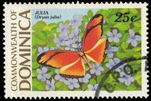 "DOMINICA 1178 (SG1257) - Julia Butterfly ""Dryas iulia"" (pf45965)"