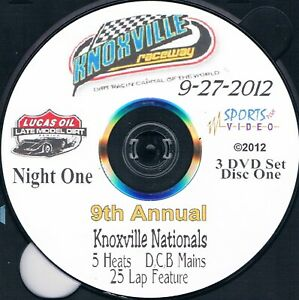 Lucas Oil Late Models Knoxville Nationals From Knoxville Raceway 9-27+28+29-2012