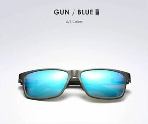 Polarized Sunglasses Carbon fiber Magnesium frame mirrored Fishing UVA UVB GRBLU