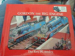 THOMAS TANK ENGINE - Gordon the Big Engine  BOOK GROLIER 1994 REV W AWDRY