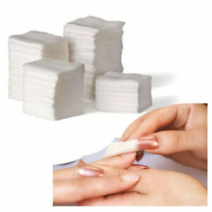 900 LINT FREE NAIL WIPES ART GEL ACRYLIC POLISH REMOVER PEDICURE MANICURE SOFT
