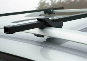 SHIELD STEEL LOCKABLE ANTI THEFT CAR ROOF BARS FOR CARS RAILS LOCKABLE + 2 KEYS