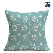 PALE TURQUOISE CHIC CUSHION COVER 43x43cm