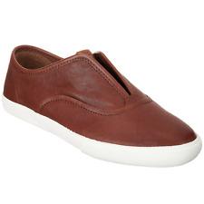 NIB   Frye Leather Slip-On Sneakers - Maya   CVO Shoes   Cognac   Size 10M   New