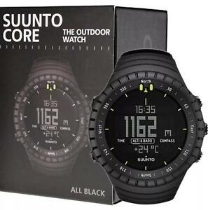 Suunto Core Outdoor Sports All Black Watch with Altimeter, Barometer & Compass