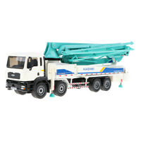 1:50 Alloy Diecast Pump Truck Construction Equipment Vehicle Toy Collection