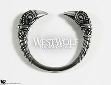 Sterling Silver Viking Raven Ring - US Size 9/10/11--- Norse/Fine/Jewelry/Ragnar