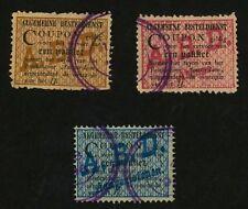 1896 Netherlands Local Delivery to Amsterdam 3 Used, H Algemene Besteldienst