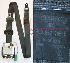 VW Touareg Left Side Front Seatbelt 7L0857705E
