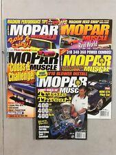 Mopar Muscle Magazine 2000-2001 - Lot de 6 Complet Issues