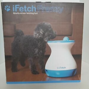 iFetch Frenzy interactive gravity driven ball fetch toy dog pets non electronic