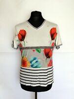 DESIGUAL T-Shirt Short Sleeve Top Women's Size M