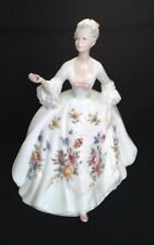 "Vintage Royal Doulton Diana Lady Figurine 8.5"" HN2468 - English Bone China"