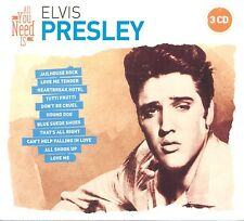 ELVIS PRESLEY - ALL YOU NEED IS: ELVIS PRESLEY 3 CD NEUF