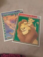 Vintage Disney The Lion King Frame Tray Puzzles - 8339, 8340