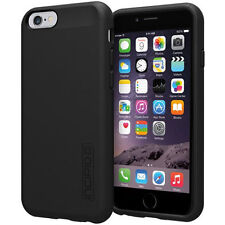 """NEW INCIPIO DUALPRO BLACK HARD SHELL CASE COVER FOR 4.7"""" IPHONE 6 IPH-1179-BLK"""