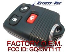 01-12 FORD ESCAPE KEYLESS ENTRY REMOTE OEM KEY FOB 3B:F87B-15K601-AB 4B BB