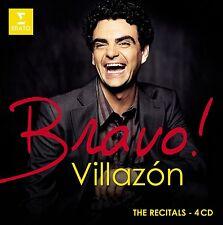 Rolando/viotti/OPR/OPRF/pido/- Bravo! villazón (the recitals) 4 CD NEUF