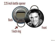 Elvis Presley Smile A Bottle Opener / Keychain