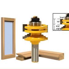 Klassische 1.3cm Schaft Holzbearbeitungswerkzeug Haltbar Glastür Fräser Zubehör