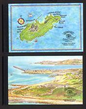 Alderney MH 1 + 2 EST Historische Entwicklung von Alderney