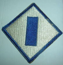 AMERICAN PATCHES-ORIGINAL WW2 UNITED STATES 1st SERVICE COMMAND SNOWY BACK