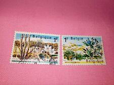 STAMPS - TIMBRE - POSTZEGELS - BELGIQUE - BELGIE 1967  NR.1408/09 (ref.1554)