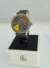 JACOB & CO Five Time Zone Diamond Gray Mens Authentic 40MM Watch JCM58DA