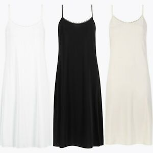 Marks & Spencer Womens Cool Comfort™ Full Slip New M&S Anti-Static Underwear