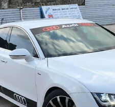 Amazing  Windscreen Windshield Car Sticker Decal For Audi