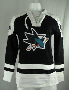 San Jose Sharks NHL Majestic Women's Lace-Up Sweatshirt