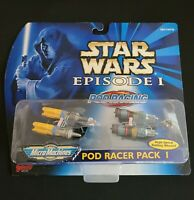 1998 STAR WARS EPISODE 1 Micro Machines Pod Racer Pack 1 by Galoob Vintage