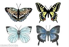 Clear Rubber Stamps - Botanical Butterflies - 1015 - New Release