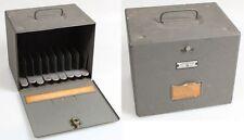 Movie Reel Locker, Vintage, Holds 9 Reels
