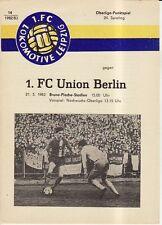 OL 82/83 1. FC Lok Leipzig - 1. FC Union Berlin, 21.05.1983