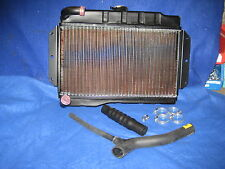 MG BRAND NEW MGB ROADSTER OR GT 1967 TO 1976 RADIATOR AND HOSE KIT INC CLIPS ***