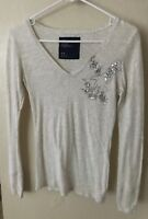 Junior's/Women's American Eagle Long-Sleeve Shirt, Size Small