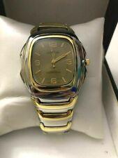 Men's Geneva Quartz Watch - Gold & Silver Color - NEW In box