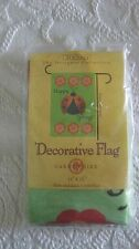 """New listing Mini Flag 'Spring Cheer Ladybug' 11X15"""" *New In Package*"""