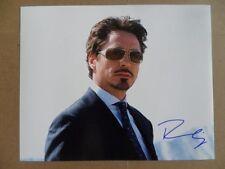 "Robert Downey Jr. Signed ~~Autographed Photo ""Wars"""